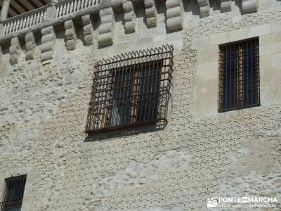 Castillos de Cuellar y Coca - Arte Mudéjar;grupo senderismo senderos madrid singles senderismo madr